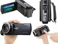 Fresh sony hdr-cx500v handycam video camera. It shoots