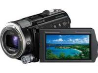 64GB HD FLASH MEMORY CAMCORDER-BLACK (retail $1098.00),