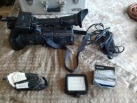 SONY HDR_FX1 CAMCORDER MOVIE CAMERA excellent condition