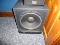 I have a sony home theater subwoofer. It plays loud and