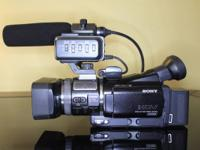 Sony HVR-A1U / A1J Camcorder in GREAT condition.