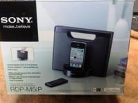 Sony RDP M5ip speaker dock for I phone. $25 Thanks