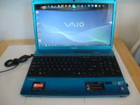 Sony Laptop - Blue (Very Nice) Intel Core i5 Have The