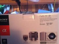 Sony nex-3 like Dslr camera never opened 14.2 mp  //