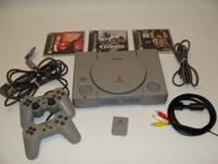 Up for sale is a Sony PlayStation One Console which