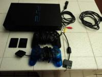 for sale is a Sony PlayStation 2 ps2 fat version in