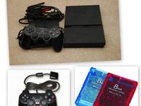 You are purchasing a well kept, like new PS2 Slim