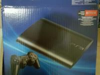 This is an almost new PS3. My kids never play with it,