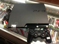 SONY PLAYSTATION 3 - SYSTEM - 120GB If you have any