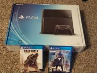 Sony PlayStation 4 (PS4) Console in Great condition