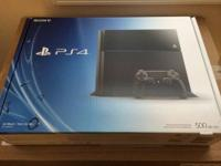 I'm selling a brand new Sony PlayStation 4 Launch