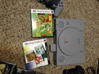 Sony PlayStation 2 (all hookups), 1 controller