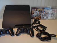 Playstation 3 PS3 Complete system as shown 300 GB Hard