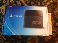 Up for sale is a brand new Playstation 4 console with