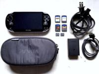 I'm selling my original Black - PlayStation Vita