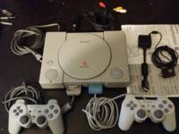 Collectors! This PS1 is in perfect shape and plays