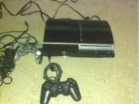 I have a PS3 Sony system up for grabs. It is being sold