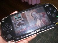 Sony PSP 1001  4.3-inch LCD widescreen,  Play MP3/MP4