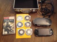 Sony PSP system. Game 1. Medal of Honor heroes.