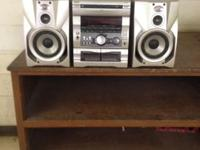 AM/ FM/ Cassette/ CD Player Unit and two speakers ***CD