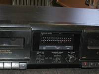 Sony TC-WE305 Stereo Dual Cassette Deck. High Speed