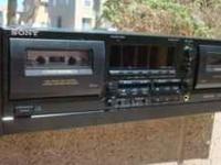 Sony TC-WR565 Rackmountable Dual Stereo Cassette/Tape