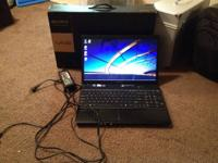 I am selling my Sony VAIO. It's a 15.5in screen