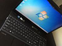 I am selling my Sony Vaio Laptop beacuse I bought it in