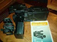Sony Video Camera Recorder CCD-V8 AF/AFu $100.00 Comes