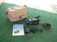 Sony Handycam CCD-F70 w/ Carry Case. Charger Also (3)