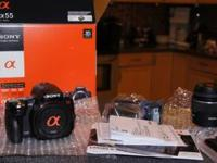 I am selling my Sony A55 that I used on Vacation for
