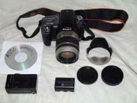 An excellent condition Sony A550 with Tamron XR IF