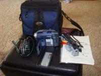 For sale is a Sony Handycam DCR-DVD101 Video Camera