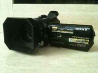Hello, I have a Sony Handycam HDR-SR11 Camcorder for