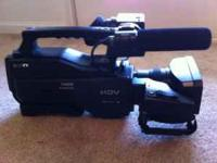 I am selling a Sony HVR-HD1000u professional HDV - HD