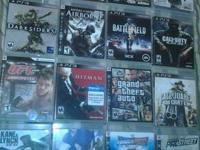 I'm selling my PlayStation 3 80Gb with 9 games and some