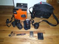 For sale a Sony SLT-A58 20.1 MP digital SLR video