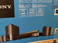 Bought in 2012; Sony Surround Sound Bravia Theatre /