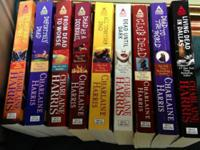 I have the first 9 Sookie Stackhouse novels for sale.
