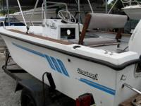1987 Sportcraft Fisherman 170, center console, with
