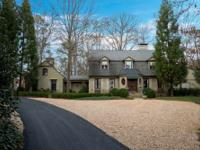 Sophisticated Chastain Park home on 2.5+/- private