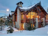 Settle into this uniquely upgraded ski-in/ski-out