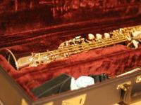 For sale is a soprano sax in fantastic working and