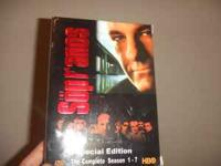I'm selling my box set of the sopranos seasons 1-7 for
