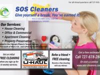We are SOS Cleaners ( Residential and Commercial