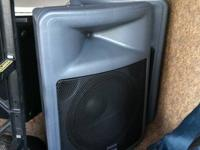 Available for sale: Peavey audio devices- 2 PR 15