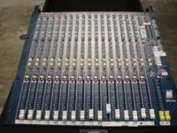 Rack includes: Allen and Heath Mix Wizard 16/2 BBE