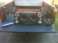 For sale is a complete audio system plus more. First a