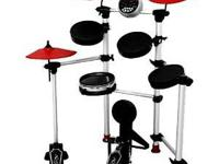 Sound X SMI-1458 Electronic Drum Set. Very little use.