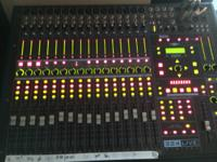 Noise craft 324 Live Digital board. Over 40 inputs / 24